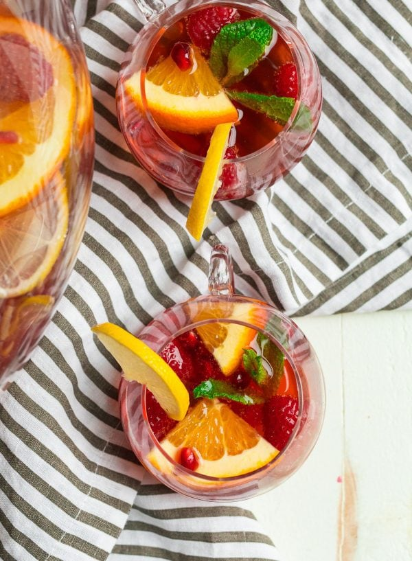 Champagne Punch. An easy punch for a crowd that's filled with citrus and fruit flavors.
