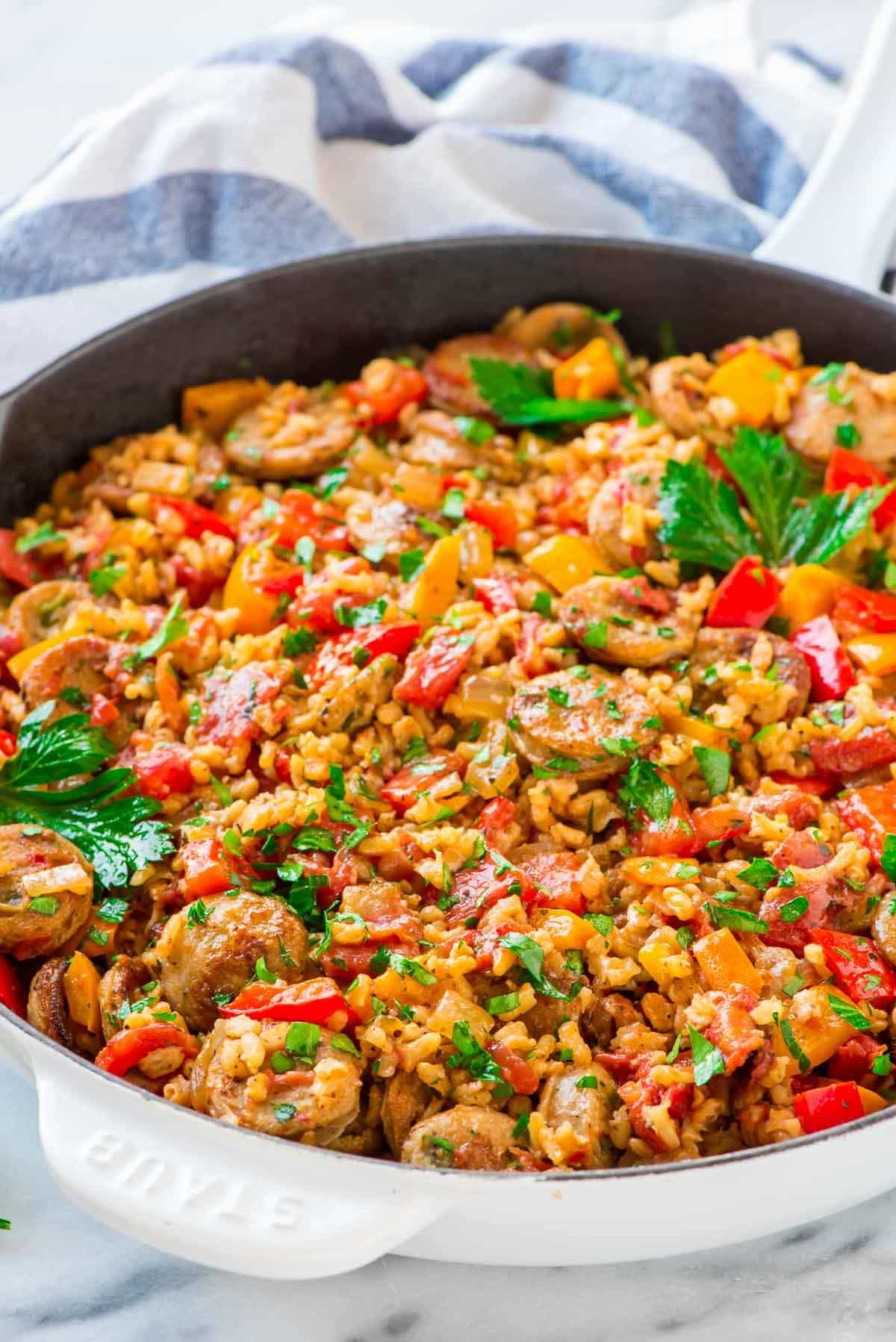 A delicious and flavorful one pan recipe that the entire family will love