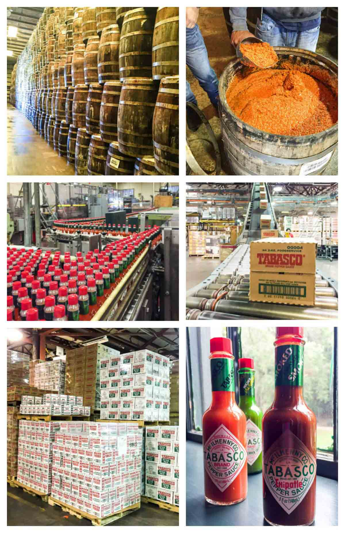Tabasco Factory and a recipe for shrimp marinade that uses the famous sauce! @wellplated