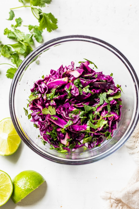 my favorite slaw for tacos