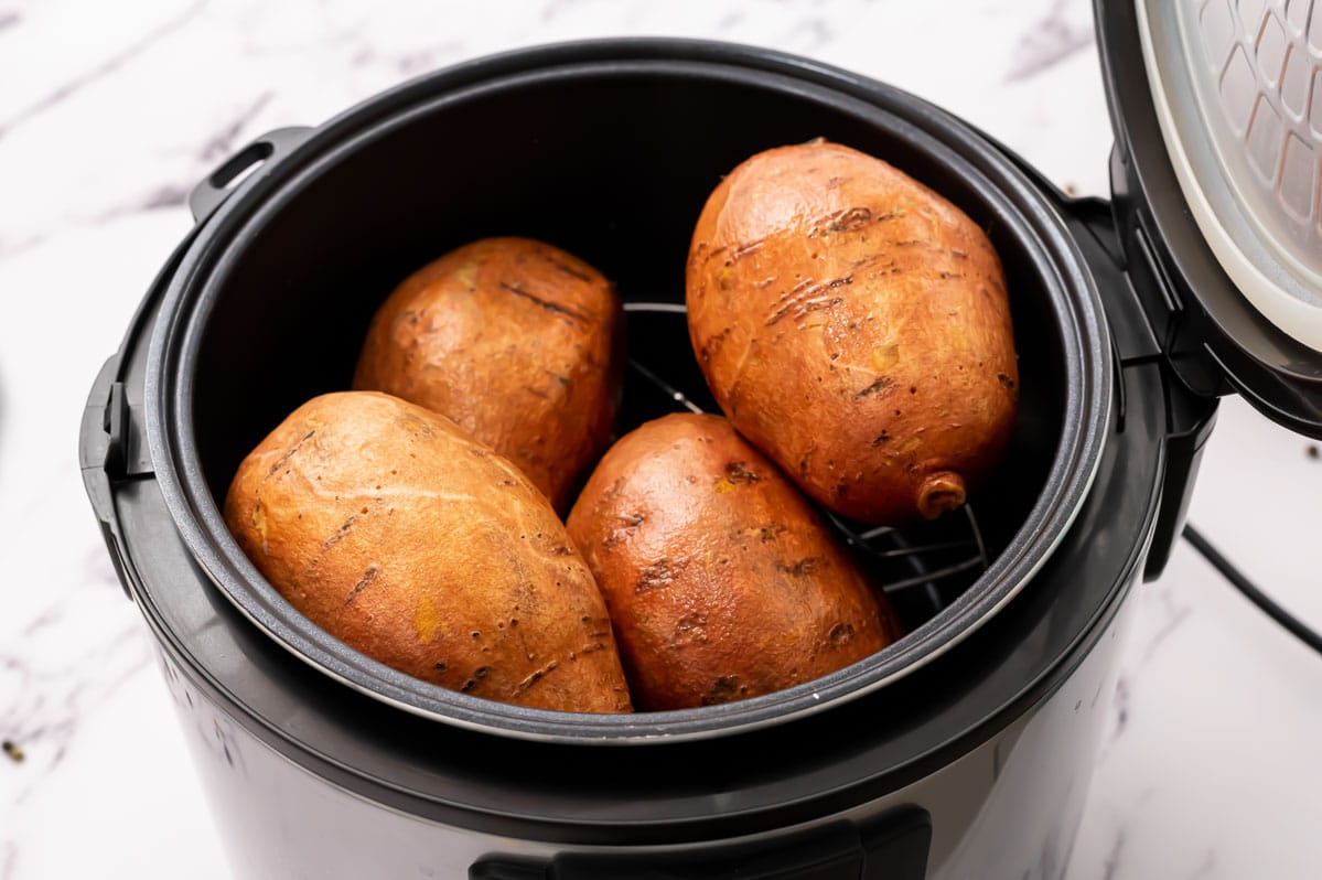 Sweet potatoes in an Instant Pot