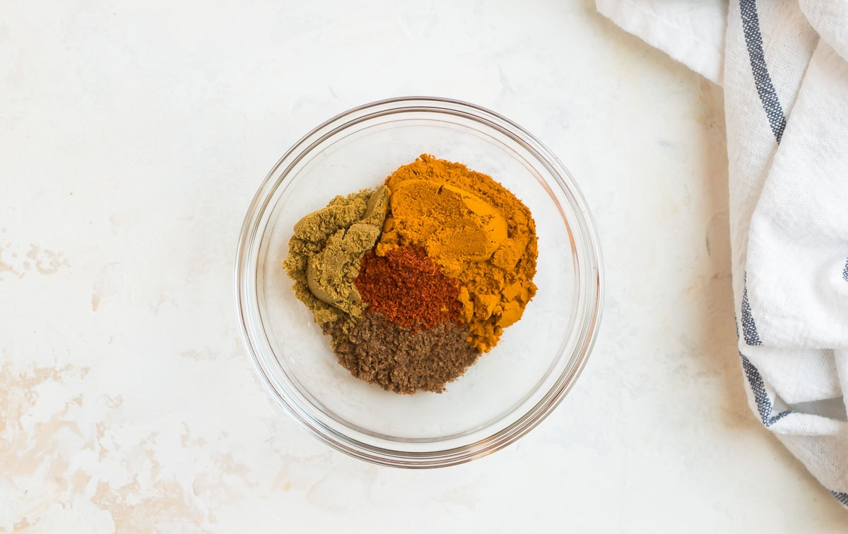 A bowl of spices