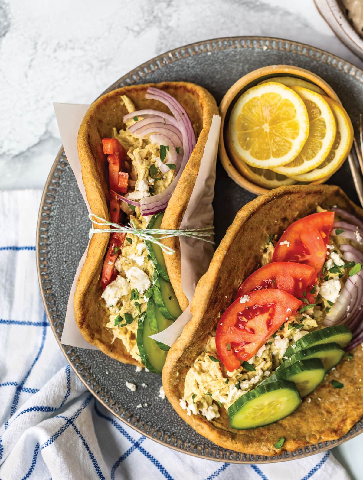Chicken Shawarma Wraps from The Well Plated Cookbook