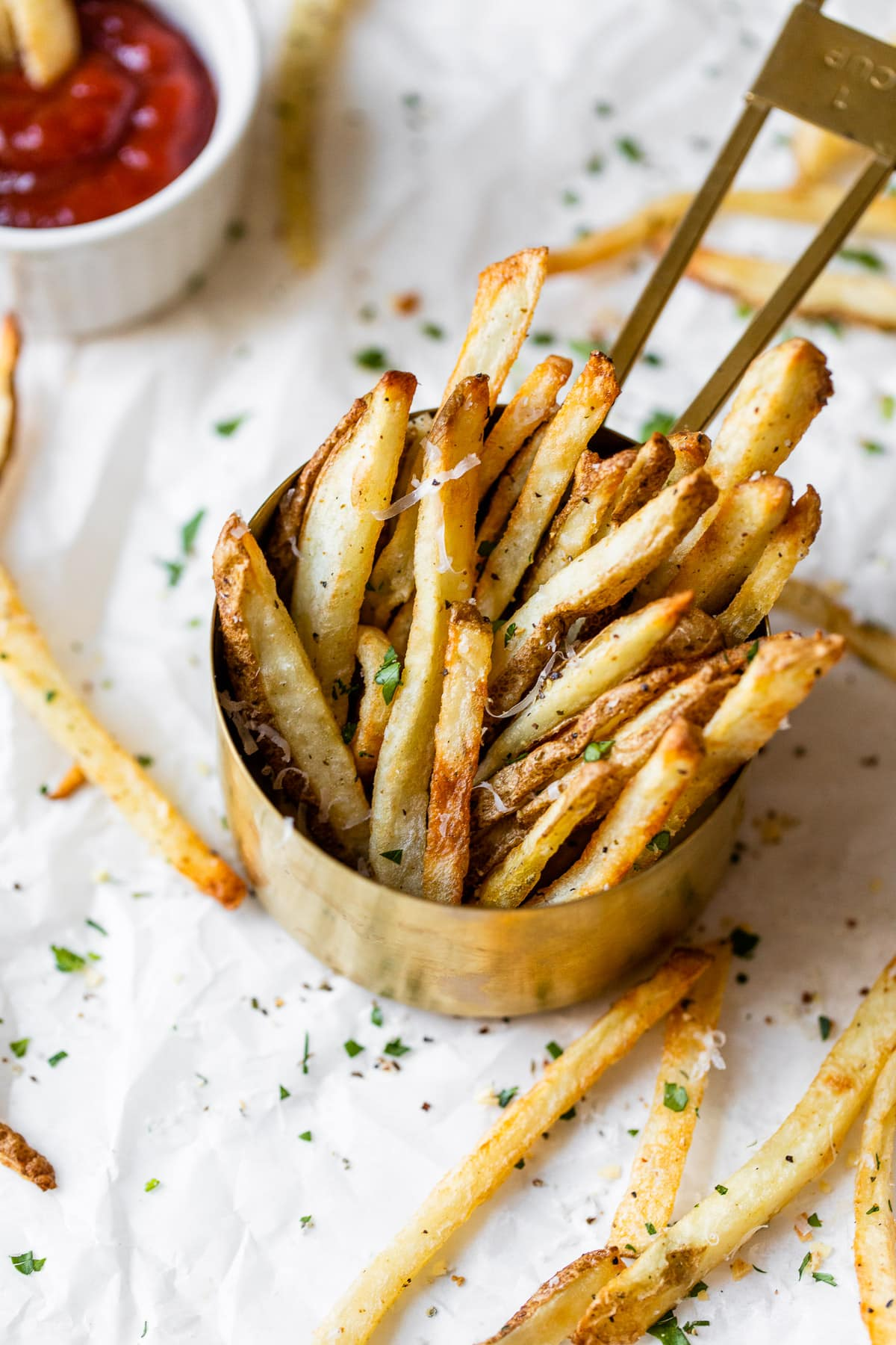 Easy air fryer french fries